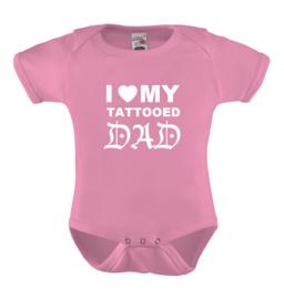 I love my tattooed dad