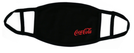 Mondkapje zwart Coca Cola