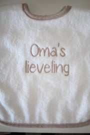 Luxe slab oma's lieveling