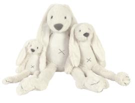 Rabbit Richie wit 38 cm met naam + datum geborduurd