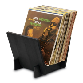Audio Dynavox - Dynavox houten Elpee standaard (zwart) 207699