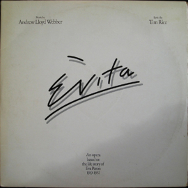 Webber, Andrew Lloyd And Tim Rice ‎– Evita (2-LP)