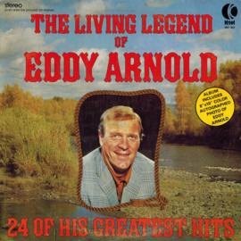 Arnold, Eddy  ‎– The Living Legend Of Eddy Arnold (24 Of His Greatest Hits)