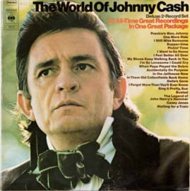 Cash, Johnny  ‎– The World Of Johnny Cash