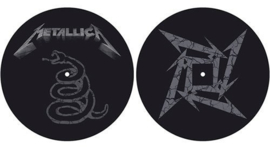 Metallica - Slipmat -Black Album (Set of 2/ 29cm)