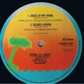 Jags, the - Back Of My Hand