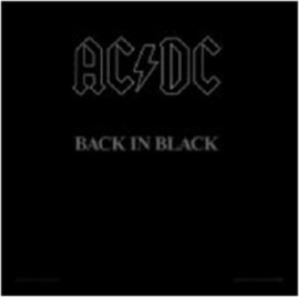 AC/DC =Framed Cover Print= Back In Black