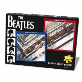 Beatles Jigsaw Puzzle Blue & Red (double sided puzzle)