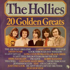 Hollies, the  – 20 Golden Greats