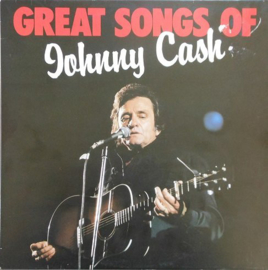 Cash, Johnny  ‎– Great Songs Of Johnny Cash
