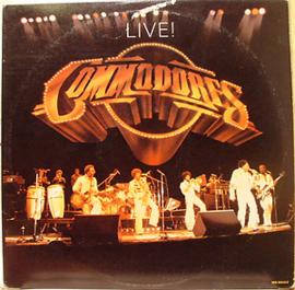 Commodores - Live (2-LP)