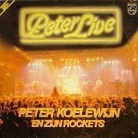 Koelewijn, Peter en zijn Rockets - Peter Live (2-LP)