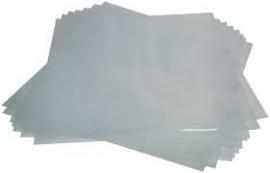 100 LP Plastic Platenhoezen vinyl extra dik 0,15 mm
