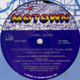 Richie, Lionel - All Night Long
