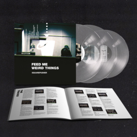 Squarepusher - Feed Me Weird Things (25th Anniversary Edition) 3-LP Limited Transparent vinyl