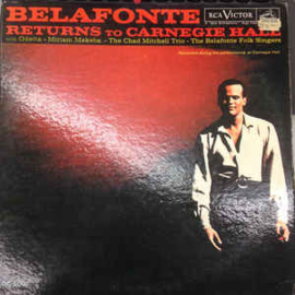 Belafonte, Harry ‎– Belafonte Returns To Carnegie Hall (2-LP)