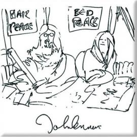 John Lennon - Fridge Magnet - Bedism