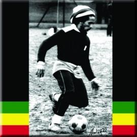 Bob Marley - Fridge Magnet - Soccer