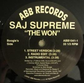 Saj Supreme – The Won / Bump Da Gunz