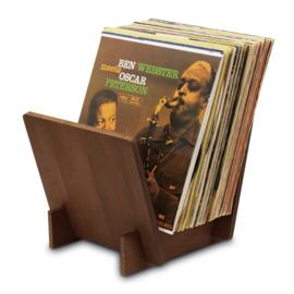 Audio Dynavox - Dynavox houten Elpee standaard (donkerbruin) 207698