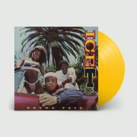 Ice T - Rhyme Pays (Limited Transparent Yellow Vinyl)