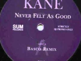 Belvedere Kane – Never Felt As Good (The Remixes)