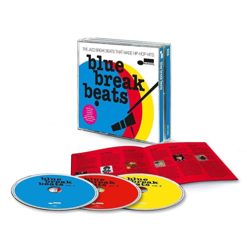 V/A - Blue Break Beats (3-CD)
