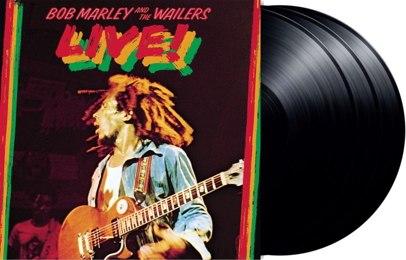 Marley, Bob and the Wailers - Live! (3-LP) HQ