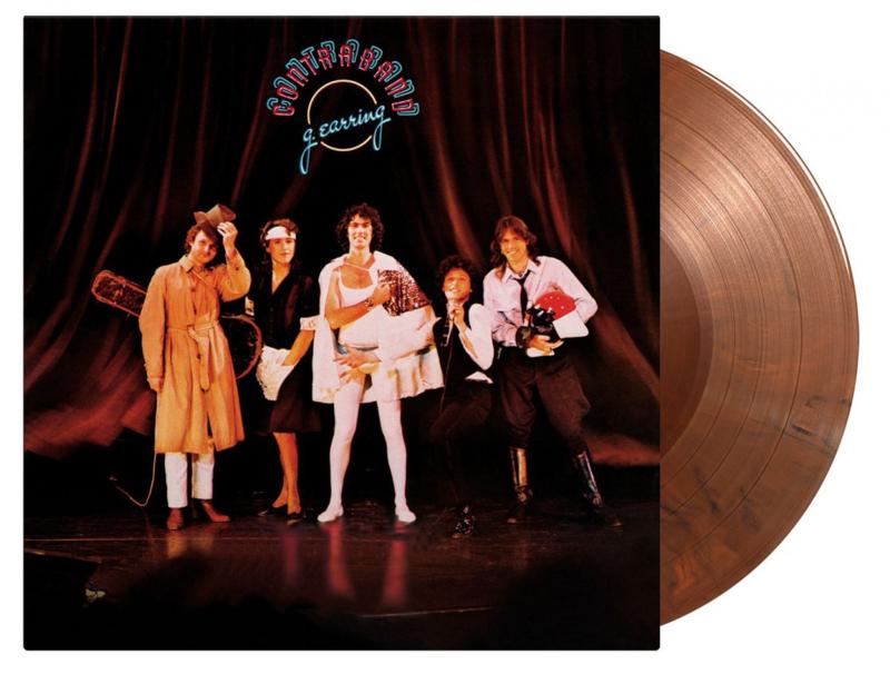 Golden Earring - Contraband (180 gr.) Limited Orange / Black Vinyl