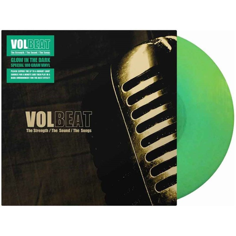 Volbeat - The Strength / The Sound / The Songs (Glow In The Dark) 180 gr. vinyl