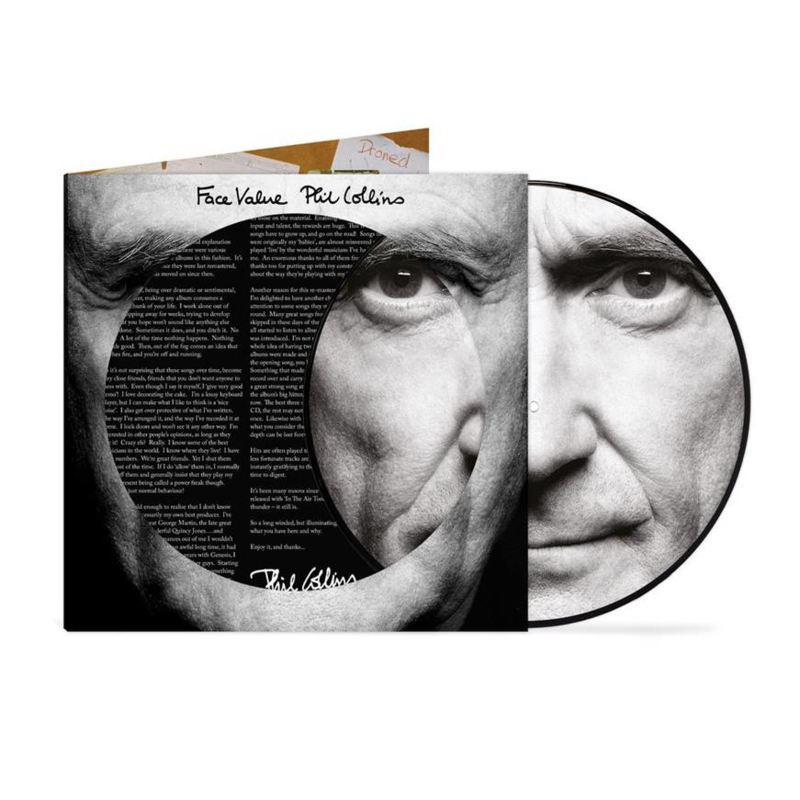Collins, Phil - Face Value (Picture Disc)