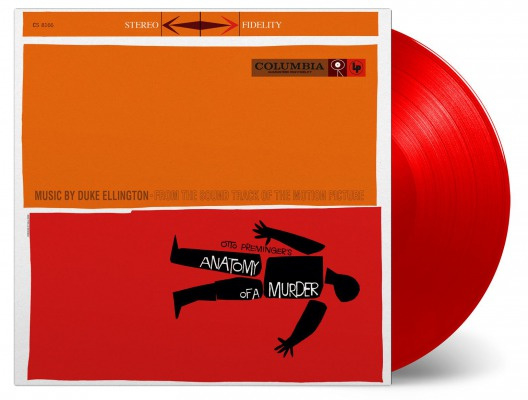 Ellington, Duke - O.S.T. Anatomy Of A Murder (180 gr. Limited Red Vinyl)