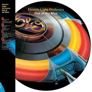 Electric Light Orchestra - Out of the Blue (Picture Disc) 2-LP - 40th Anniversary Edition