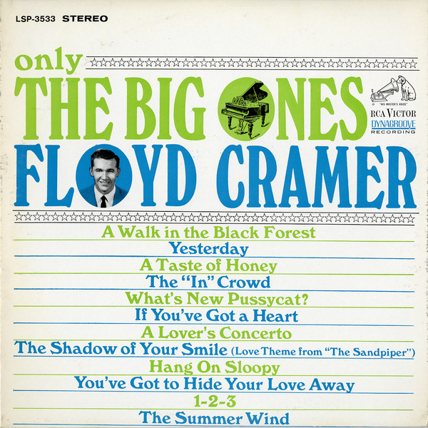 Cramer, Floyd  ‎– Only The Big Ones