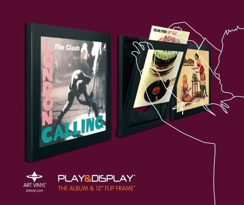 Play & Display - Triple Pack (zwart)