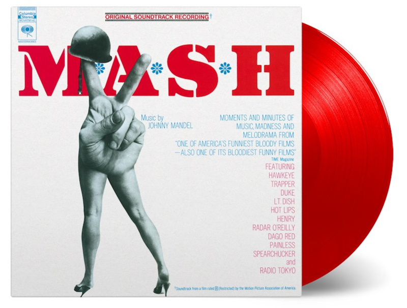 V/A - O.S.T - Mash (Numbered Limited Edition Red Vinyl) 180 gr.
