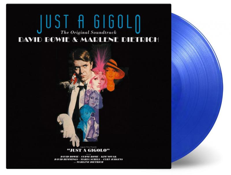 Bowie, David & Marlene Dietrich - O.S.T. Just A Gigolo (180 gr. blue vinyl)