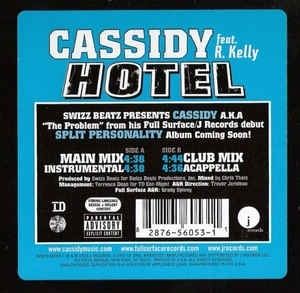 Cassidy (feat. R.Kelly) - Hotel