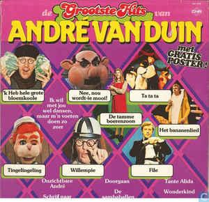 Duin, André van  – De Grootste Hits Van André Van Duin