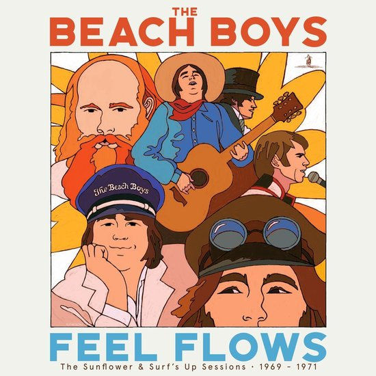 Beach Boys, the - Feel Flows (The Sunflower & Surf's Up Sessions 1969 - 1971) 2-LP
