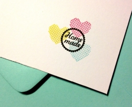 Miss Honeybird Mini Stempel Home Made