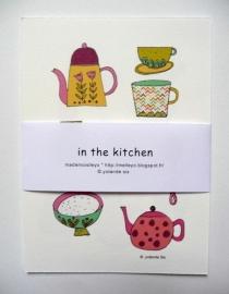 Mademoiselleyo - In the Kitchen (set van 4)