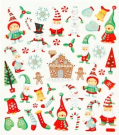 Stickers Kerst