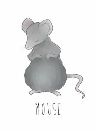 Nikki Dotti Ansichtkaart Mouse