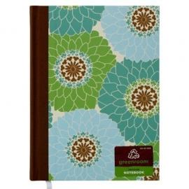Greenroom Journal groen/blauw