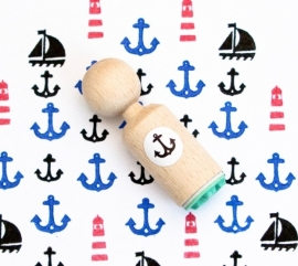 Miss Honeybird Mini Stempel Anker