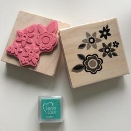Stempel 5 bloemen