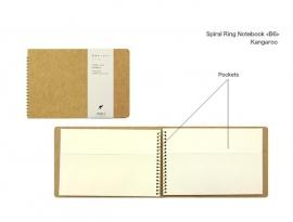 Midori Spiral Ring Notebook B6 Kangaroo