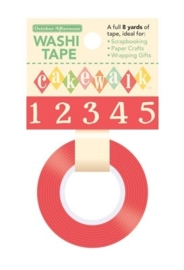 Washi Tape Numbers