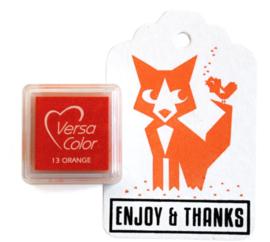 Versa Color Stempelkussen Orange